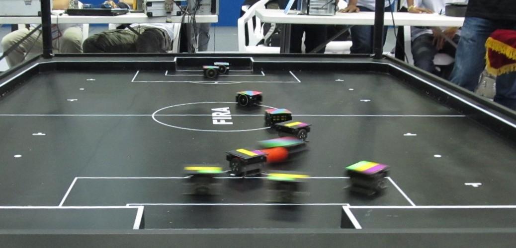 FIRA MiroSot Robot Soccer Game