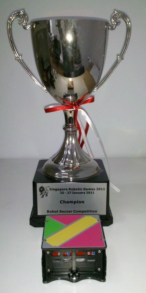 SRG2011 MiroSot Trophy