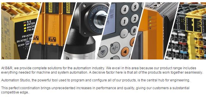 B&R Automation Products